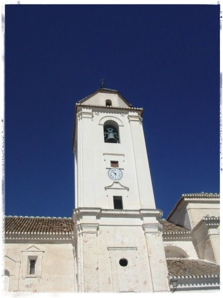Our village church and the blue blue sky