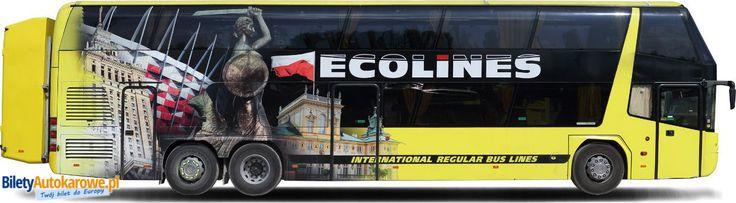 Ecolines - przewoźnik z Łotwy. #autokary