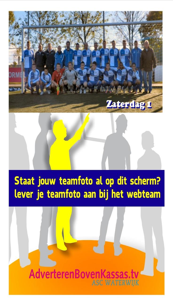 Teamfoto Zaterdag 1