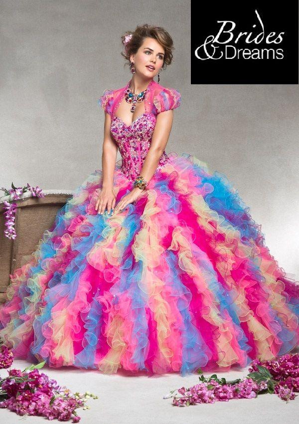 51 best vestidos de fiesta images on Pinterest   Evening gowns, Ball ...