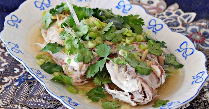Steamed Whole Snapper with Ginger
