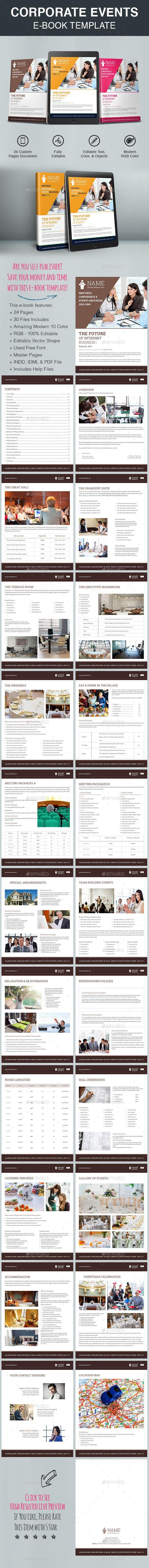 Corporate Events E-Book Template