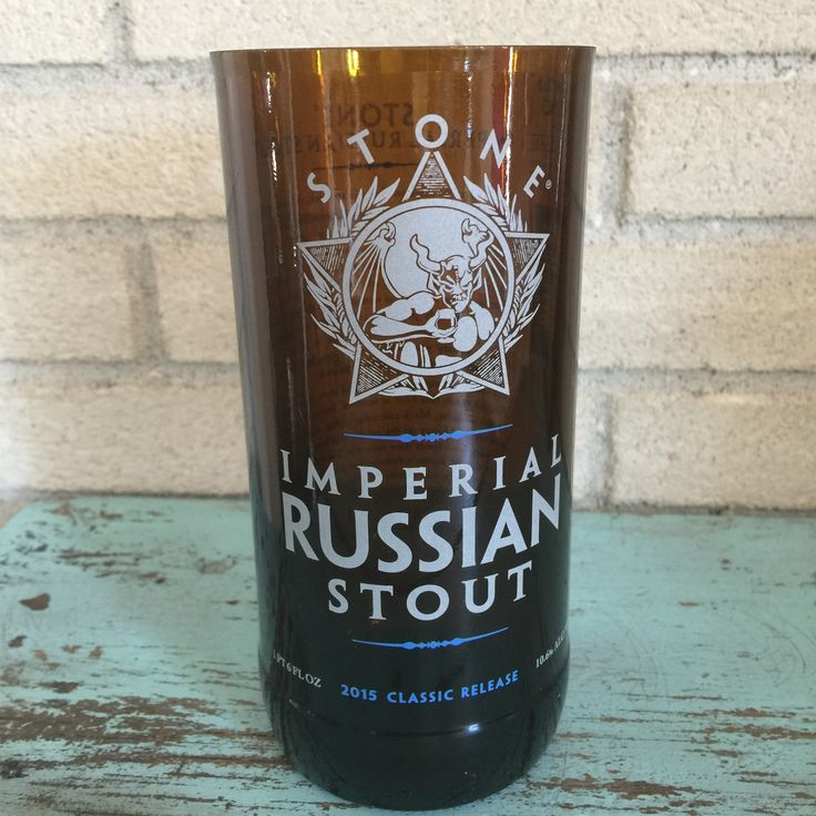 Bottle of the Week #7 Bottle: Stone Imperial Stout Size: 1 Pint 6oz Polishing Time: 3 minutes 50 seconds Comment: Gotta love that Stone Logo Check out our weekly post here http://bit.ly/1n6Uye8