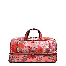 Lighten Up Large Wheeled Duffel Bag in Bohemian Blooms