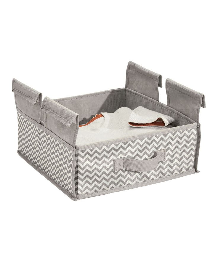 Look at this Taupe Chevron Hanging Drawer Shelf on #zulily today!