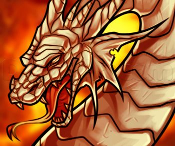 127 best dragons and fire images on pinterest art tutorials how to draw a dragon head ccuart Choice Image