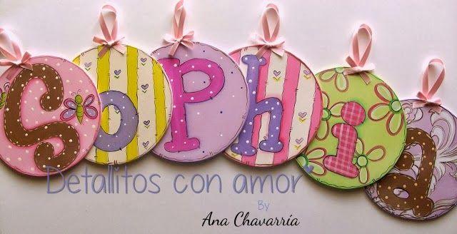 Letrero decorado <3 https://www.facebook.com/pages/Detallitos-con-amor/226388200757614?ref=br_rs