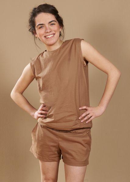 Camel-Jumpsuit von joerlisch auf DaWanda.com