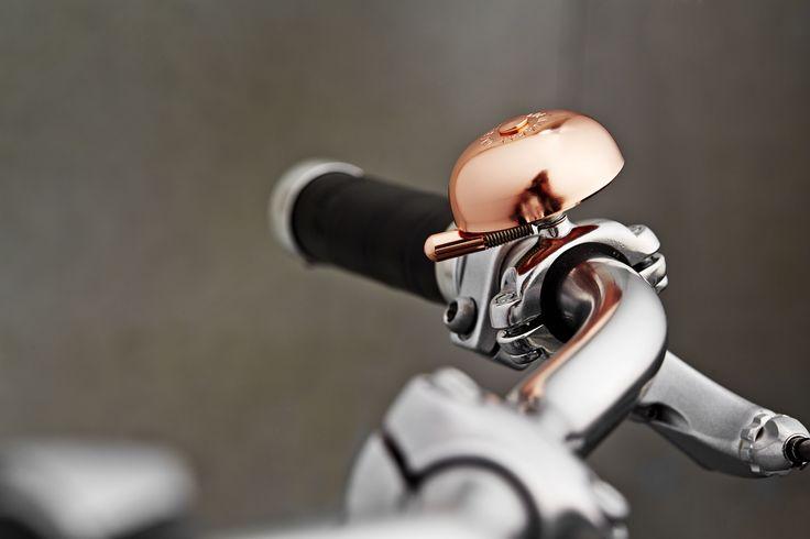 The copper bell on the Storm&Marie bike - Batavus Denmark 2015