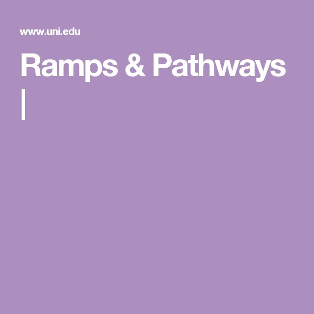 Ramps & Pathways |