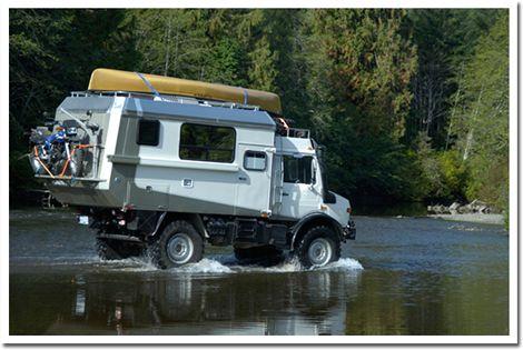 Unimog1300L 4X4 Camper- bcexplore.com/unimog