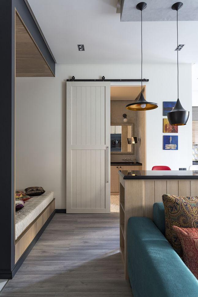 Однокомнатная квартира 43 м2 в сталинском доме с нотками востока от Дарьи Назаренко - Дизайн интерьеров | Идеи вашего дома | Lodgers