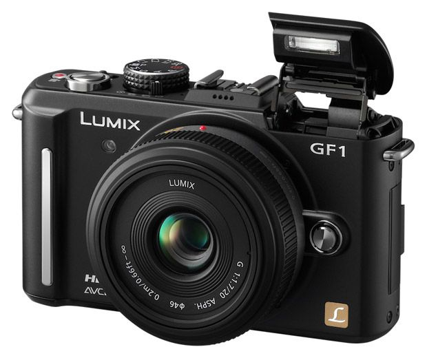 The Panasonic Lumix GF1