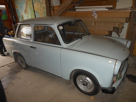 The legendary Trabi, east German #Car