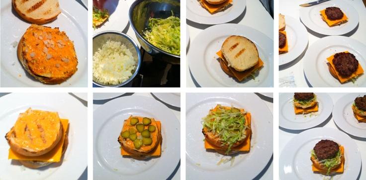 How to Make a Big Mac. A Step-By-Step Guide.  - Dirty Yoga Co.  #recipe