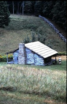 MIDDLESBORO, KENTUCKY - gotta see it! PHOTO: The Henslee Settlement, a 1903 homestead community, lies within the confines of Middleboro's Cumberland Gap National Historic Park.