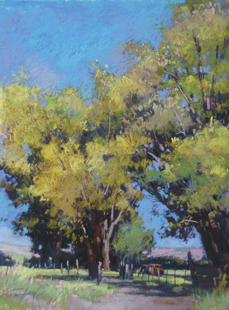 """Terri Ford's pastel, """"Country Calm"""" (seen here and on the cover of the April 2012 issue of Pastel Journal), is one of 100 breath-taking paintings that ranked among this year's Pastel 100 competition winners.    Enjoy this gallery of the top five prize-winning paintings, and click on this link for the April 2012 Pastel Journal: http://bit.ly/x7wQxI"""