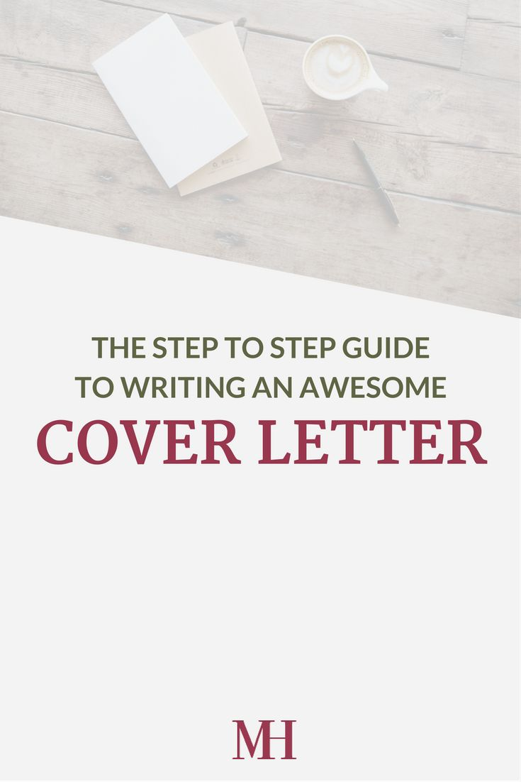 Best 25 Writing A Cover Letter Ideas On Pinterest Cover Letter