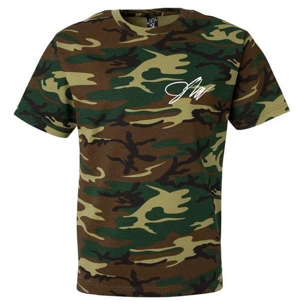 Jake Paul Green Camo Shirt