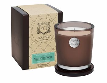 CLOSEOUT - Sugarcane Shore Large Soy Candle by Aquiesse