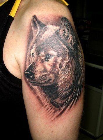 wolf, tattoos, designs, tattoo, ideas, 3d, art, photo