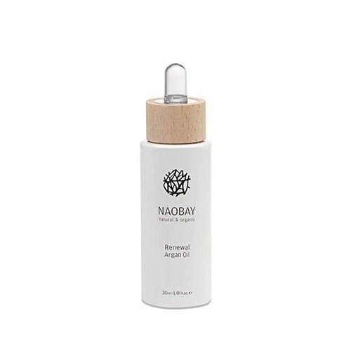 Aceite de argán renovador puro NAOBAY  Ecocert - RENEWAL ARGAN OIL  30 ml  ORGÁNICO - 100% NATURAL - SIN CONSERVANTES