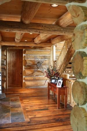 1000 ideas about slate tile floors on pinterest slate for Rustic cabin flooring