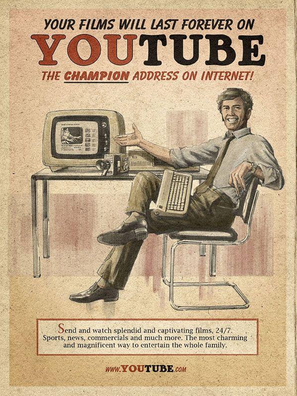 YouTube - Vintage Social Media
