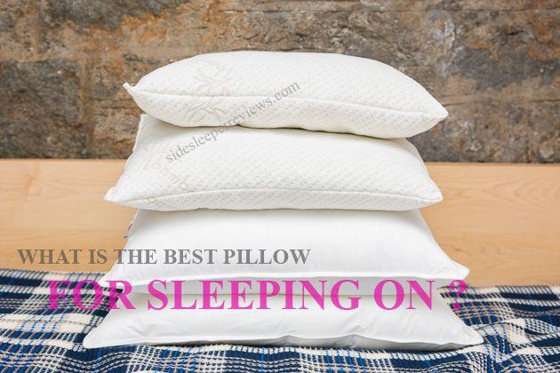 50 Best Side Sleeper Pillow Images On Pinterest Side