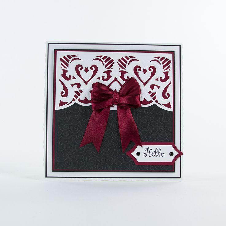 Idyllics Die & Emboss Set – Filigree Affections – 1516E – Tonic Studios UK