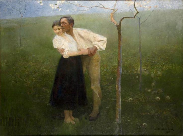 Wacław Szymanowski, Umizgi huculskie, 1892 rok