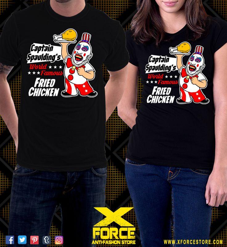 Camiseta Rejeitados Pelo Diabo Capitão Spaulding A Casa dos 1000 Corpos
