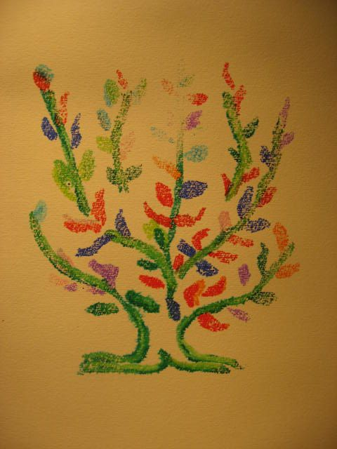 Matisse: platano_monostampa
