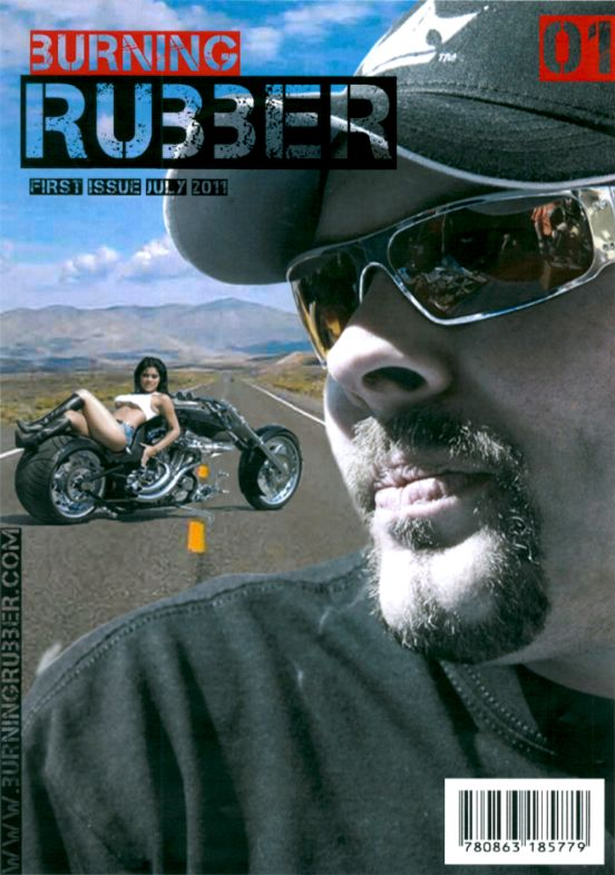 Rubber motocycle mag