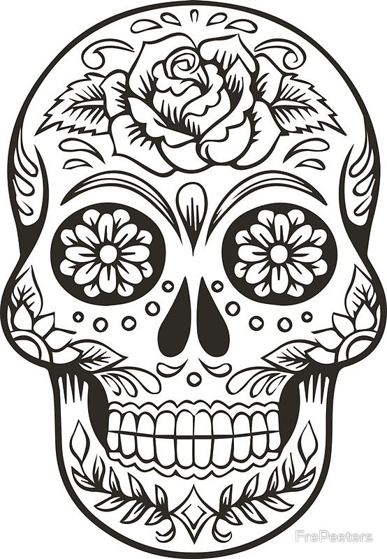 Mexican Skull by FrePeeters