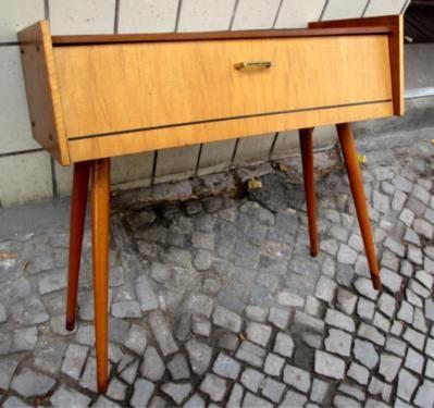 50er 60er Schrnkchen Vintage Sideboard Mid Century Nierentisch In Berlin