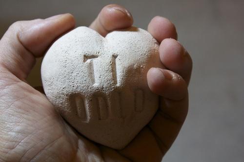 Dillo col cuore  Heart message!