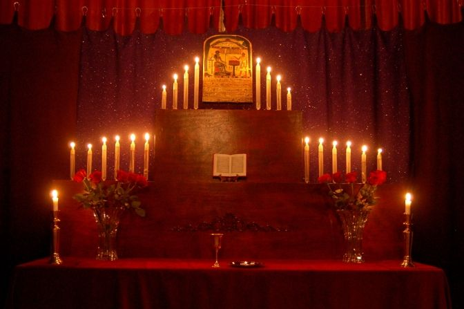 Gnostic Mass altar  http://occultofpersonality.net/occult-esoteric-arts-salon/