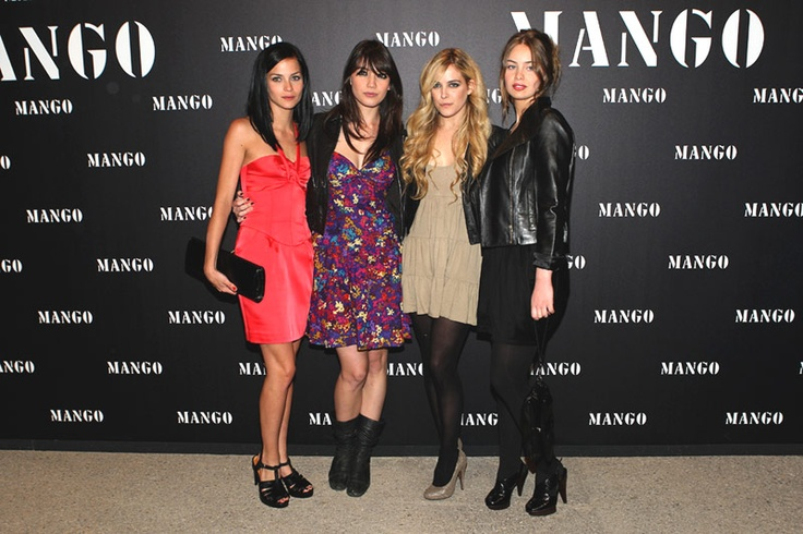 Leight Lezark, Daisy Lowe, Riley Keough & Marie-Ange Casta at the 2nd Edition of El Botón-MANGO Fashion Awards in 2009