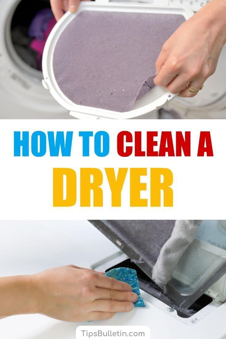 4 Handy Ways To Clean A Dryer Clean Washing Machine Baking Soda Drain Cleaner Baking Soda Cleaner