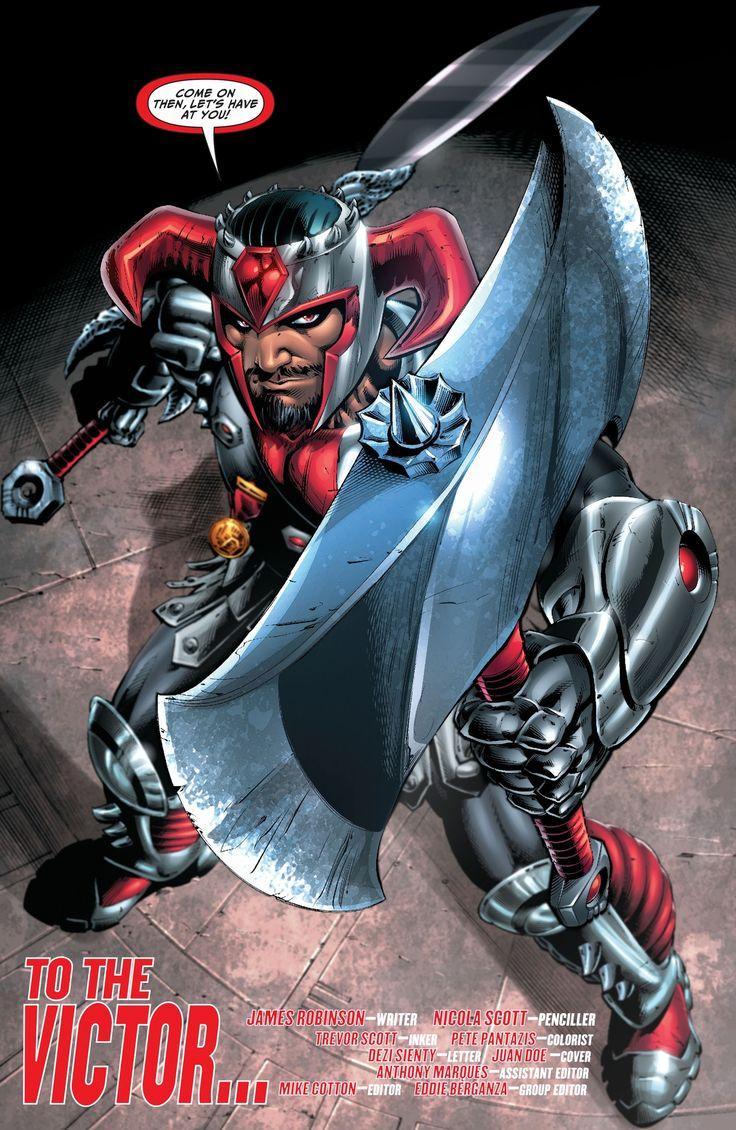 Steppenwolf General of Darkseid's Apoklips Army