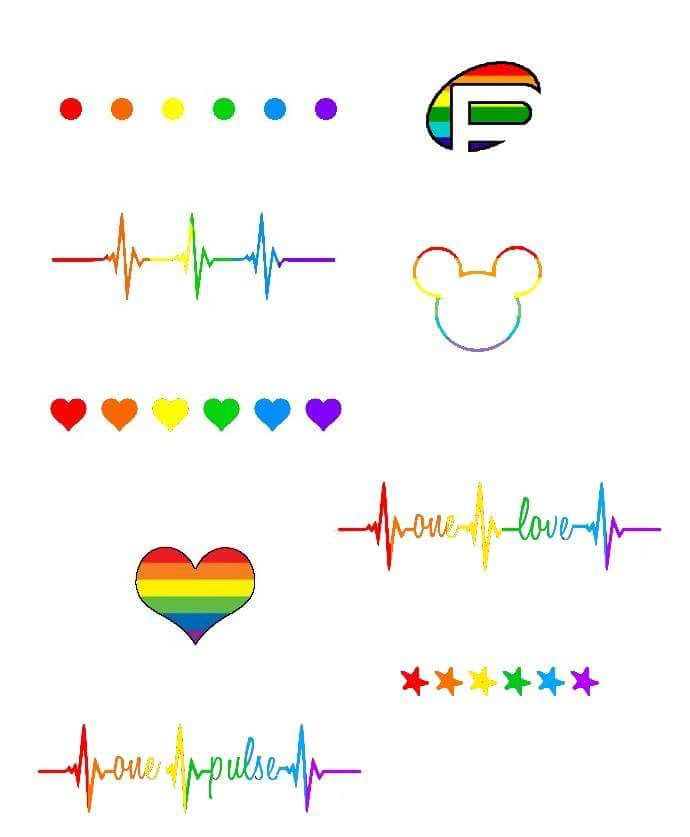21 best gay pride images on pinterest gay pride time for Atomic tattoo orlando