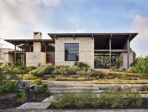 Designed by Lake Flato Architects, the Goat Mountain Ranch is a newly completed ranch house located in Uvalde, Texas.
