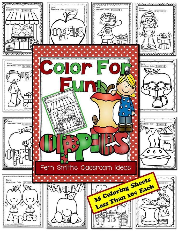 Apple Themed Coloring Pages : Best th day of school images on pinterest dental