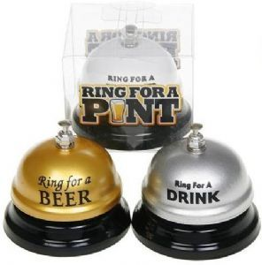 Ring for a Drink Table Bell in 3 Styles