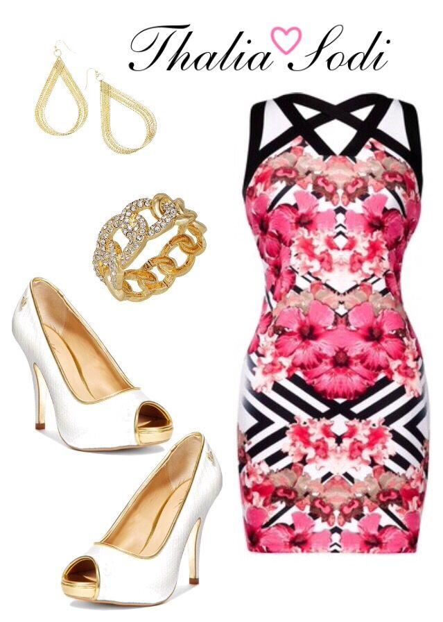 Summer Dress...❤ Thalia Sodi Outfit