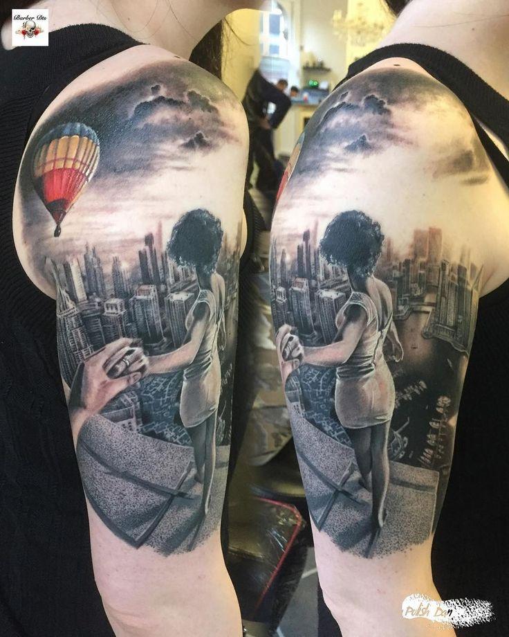 Realistic Tattoo by Polish Dan