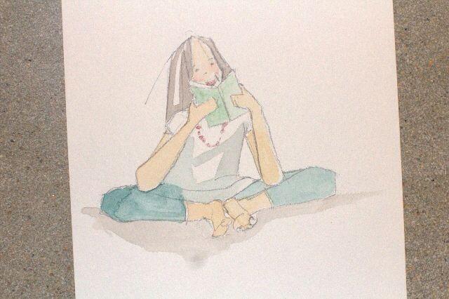 Draw: gestures - Ruth de Vos: Textile Art