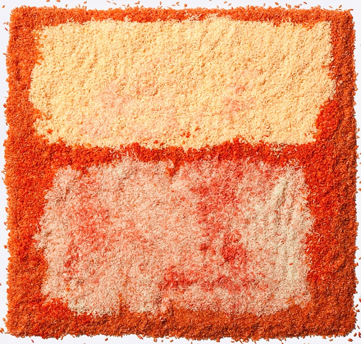 HENRY HARGREAVES + CAITLIN LEVIN: Rothko in rice