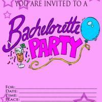 free bachelorette party invites pinterest'te hakkında en iyi 17, Party invitations